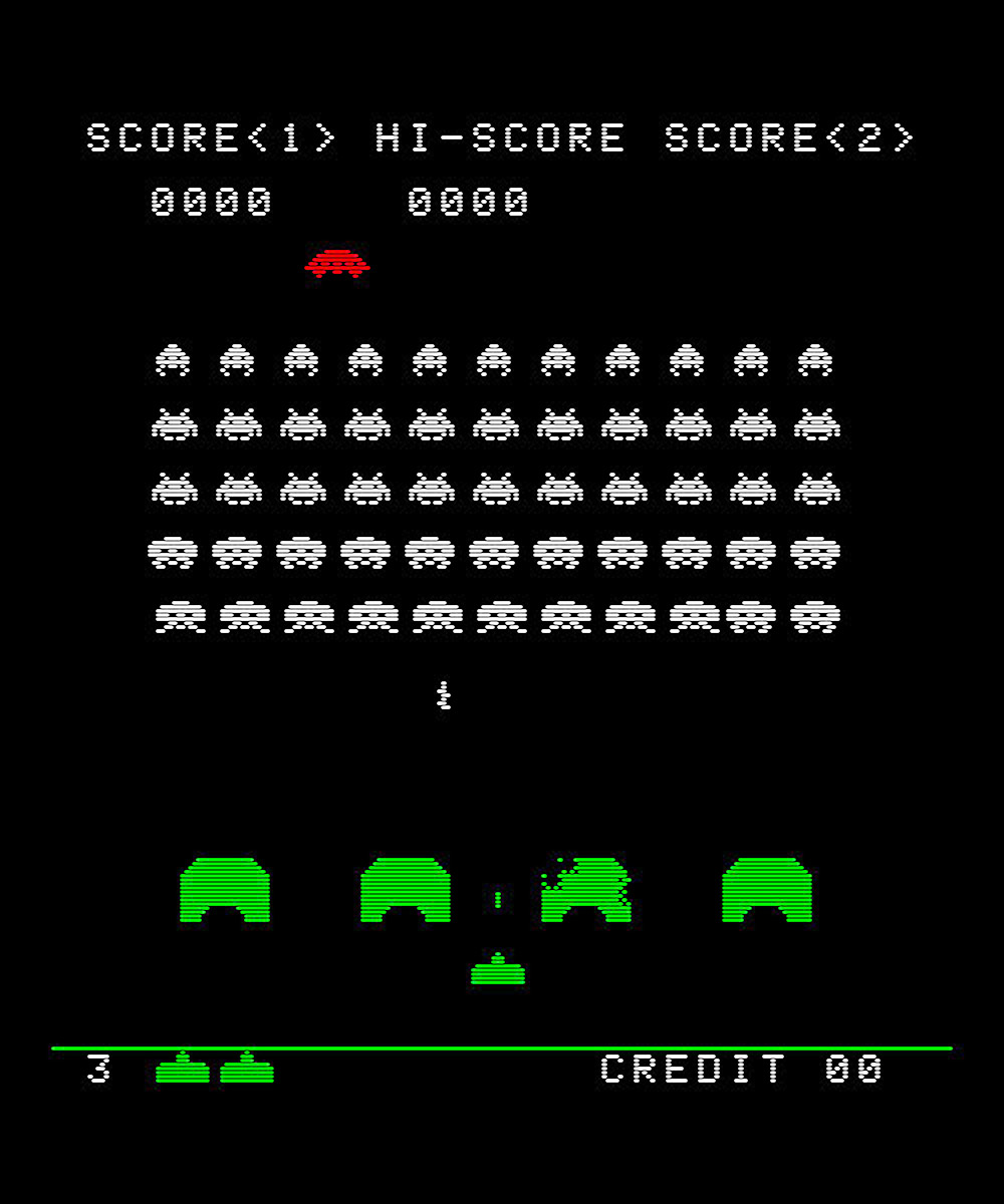 Space Invaders Symbols And Electronics On Pinterest
