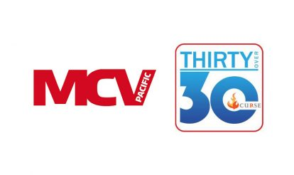 MCV Pacific announces the 30 over 30 presented by Curse