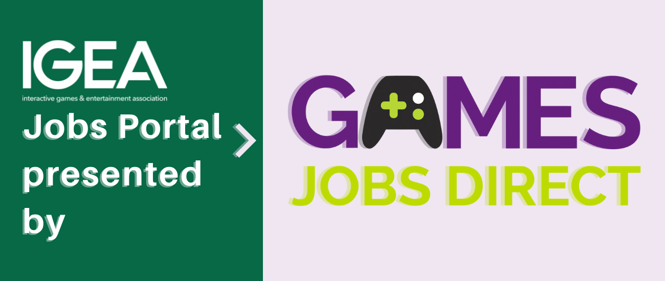 IGEA Jobs Portal presented by Games Jobs Direct
