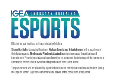 IGEA Industry Briefing – Esports