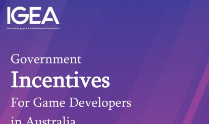 IGEA Industry Resource – Summary of Government Incentives available for Game Developers in Australia