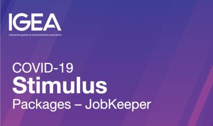 IGEA Webinar: JobKeeper For the Games Industry