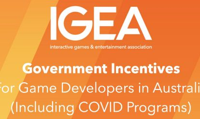 Update of Government Incentives for Game Developers